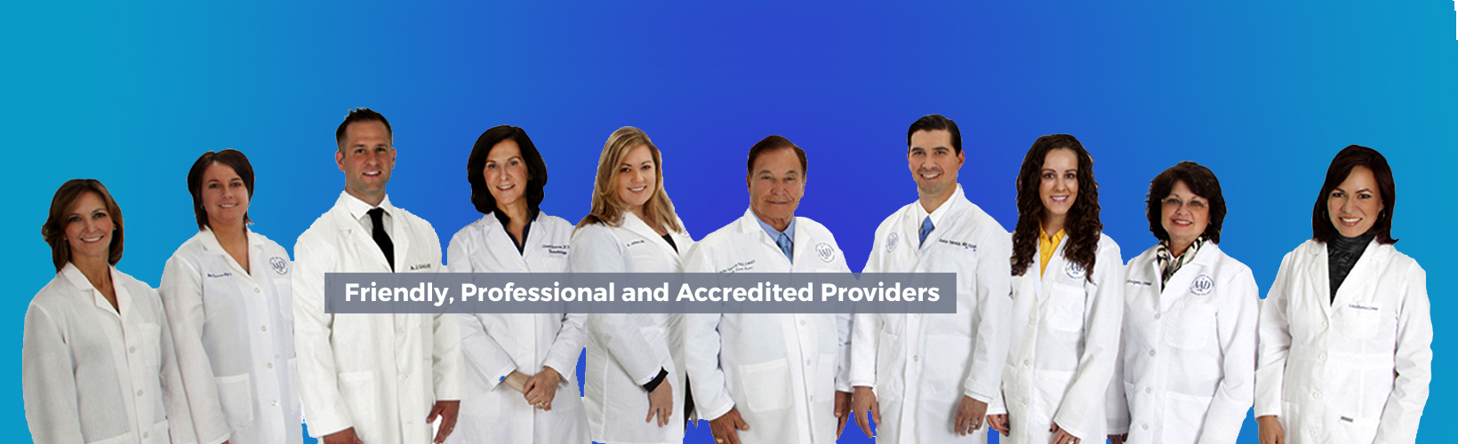 Friendly, Professional and Accredited Providers